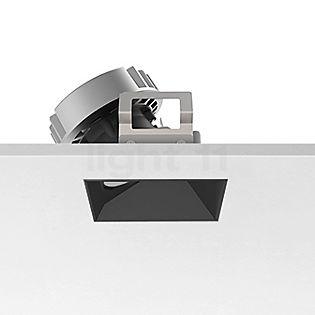 Flos Architectural Kap 80 Einbauspot quadratisch LED Wallwasher schwarz, 29°