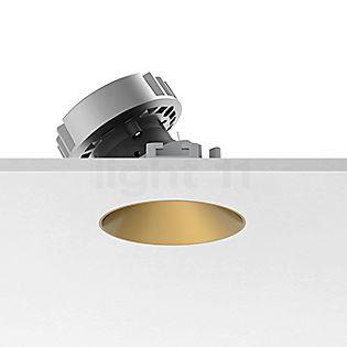Flos Architectural Kap 80 Einbauspot rund LED Wallwasher Gold, 36°