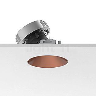 Flos Architectural Kap 80 Loftindbygningslampe rund LED Wallwasher kobber, 43°