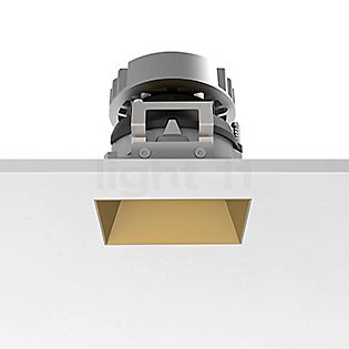 Flos Architectural Kap 80 Plafondinbouwlamp vierkant instelbaar LED goud, 18°