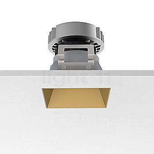 Flos Architectural Kap 80 Plafonnier encastré carré LED doré, 19°
