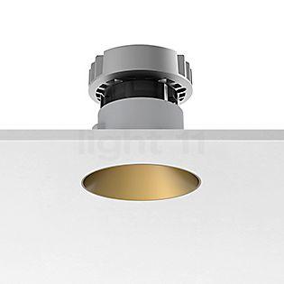 Flos Architectural Kap 80 Plafonnier encastré rond LED doré, 19°