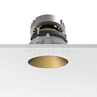 Flos Architectural Kap 80 Plafonnier encastré rond ajustable LED doré, 19°