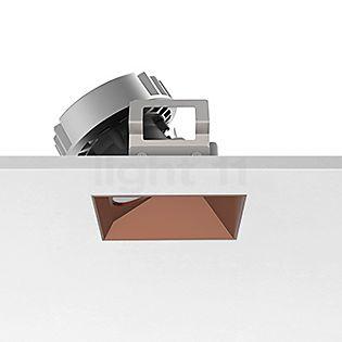 Flos Architectural Kap 80, foco empotrado cuadrado LED Wallwasher cobre, 27°