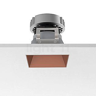 Flos Architectural Kap 80, foco empotrado cuadrado  LED cobre, 52°