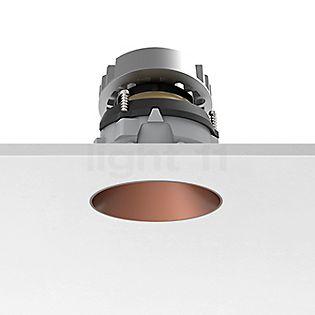 Flos Architectural Kap 80, foco empotrado redondo y ajustable LED cobre, 46°