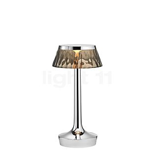 Flos Bon Jour Unplugged chrome glossy with Touch Dimmer crown smoke