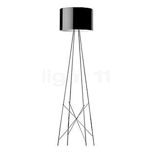 Flos Ray F2 Aluminiumschirm, schwarz