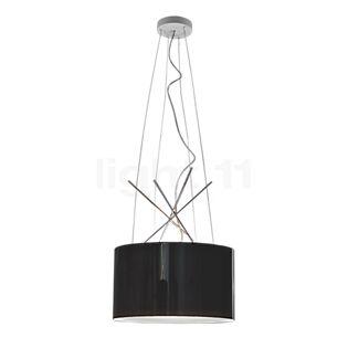 Flos Ray S Aluminiumschirm, schwarz