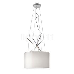 Flos Ray S glas lampeskærm, grå