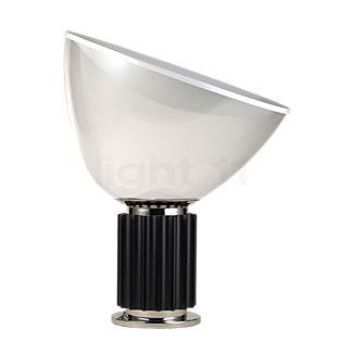 Flos Taccia LED, vidrio negro