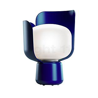 Fontana Arte Blom, lámpara de sobremesa azul
