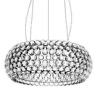 Foscarini Caboche Sospensione grande LED traslucido chiaro, commutabile
