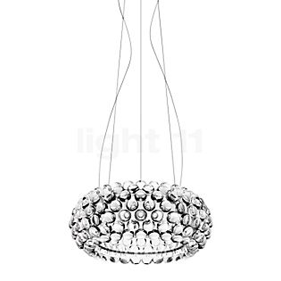 Foscarini Caboche Sospensione media LED clear, switchable