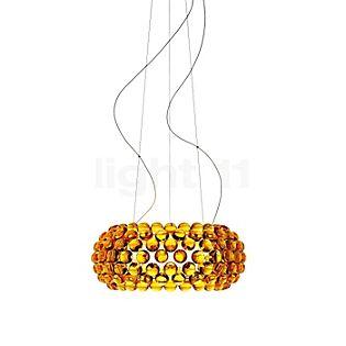 Foscarini Caboche Sospensione media LED dorato,commutabile