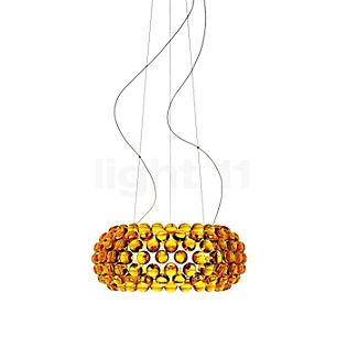 Foscarini Caboche Sospensione media LED gold, schaltbar