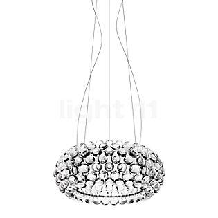 Foscarini Caboche Sospensione media LED traslucido chiaro, commutabile