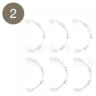 Foscarini Pezzi di ricambio per Caboche Sospensione pezzo n°1: 10 sfere traslucide chiare