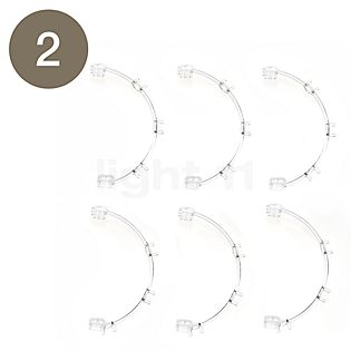 Foscarini Spare parts for Caboche Terra Part no. 1: 10 spheres clear