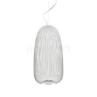 Foscarini Spokes 1 Sospensione My Light LED blanc