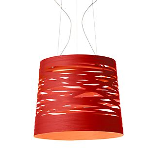 Foscarini Tress grande Sospensione LED wit, schakelbaar