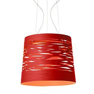 Foscarini Tress grande Sospensione LED weiß, schaltbar