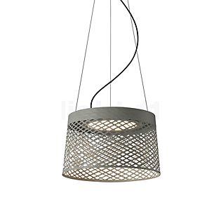 Foscarini Twiggy Grid Sospensione LED grau-beige