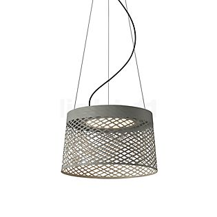 Foscarini Twiggy Grid Sospensione LED grijs-beige
