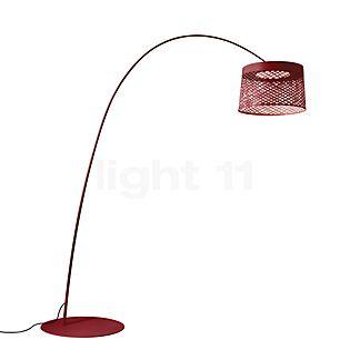 Foscarini Twiggy Grid Terra LED carmine red