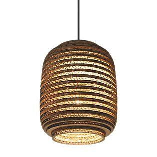 Graypants Scraplights Ausi Pendant Light natural colour, ø19 cm