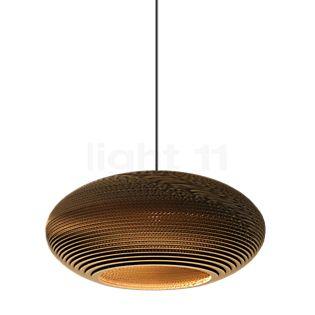 Graypants Scraplights Disc Lampada a sospensione naturale, ø43 cm