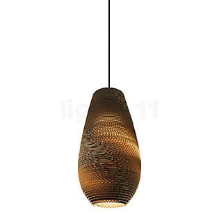 Graypants Scraplights Drop Lampada a sospensione naturale, ø25 cm