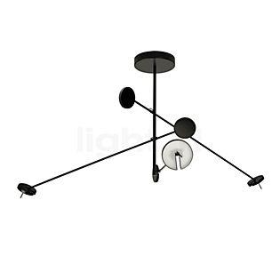 Grok by LEDS-C4 Invisible, lámpara de suspensión de 3 focos LED regulable