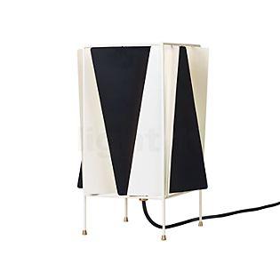 Gubi B-4 Tischleuchte schwarz/weiß