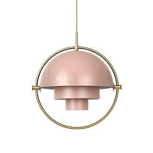 Gubi Multi-Lite Hanglamp messing/roze , Magazijnuitverkoop, nieuwe, originele verpakking