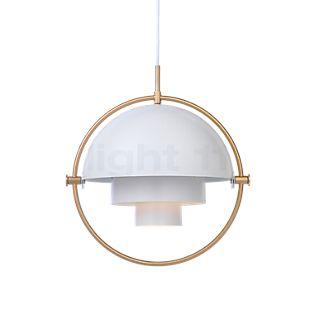 Gubi Multi-Lite Hanglamp messing/wit