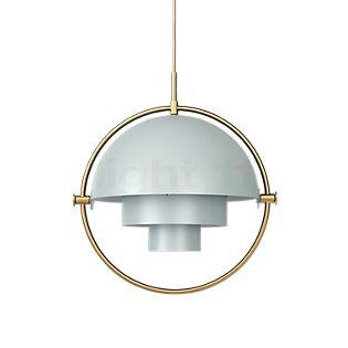 Gubi Multi-Lite Lampada a sospensione ottone/grigio