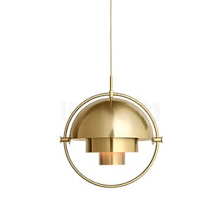 Gubi Multi-Lite Pendant light Mini black/brass