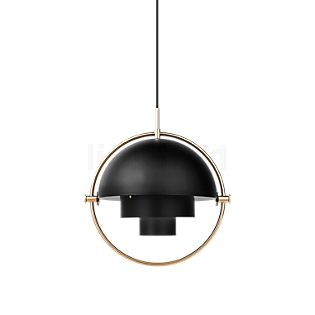 Gubi Multi-Lite Suspension Mini noir/laiton