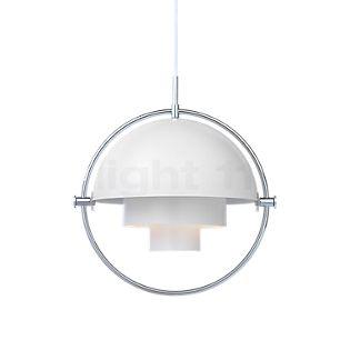 Gubi Multi-Lite Suspension chrome/blanc