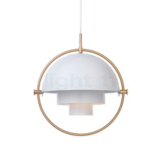 Gubi Multi-Lite Suspension laiton/blanc