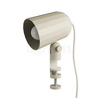HAY Noc Clip Lampe à pince blanc cassé