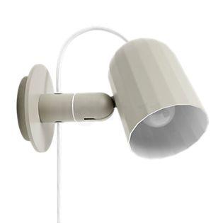 HAY Noc Wandlamp gebroken wit