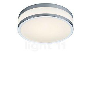 HELESTRA Zelo, lámpara de techo redonda LED cromo