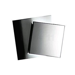 Holtkötter Cubic, lámpara de pared LED aluminio pulido