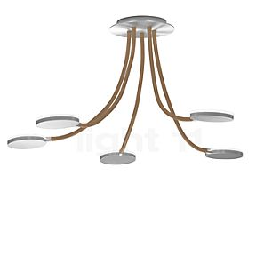 Holtkötter Flex D5 Ceiling Light LED aluminium/sand