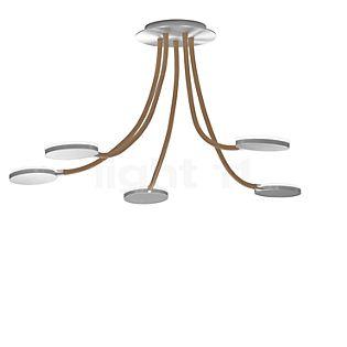 Holtkötter Flex D5, plafón LED aluminio/arena