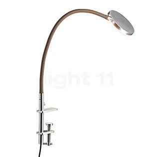 Holtkötter Flex K Lampe à pince/étau LED aluminium/sable