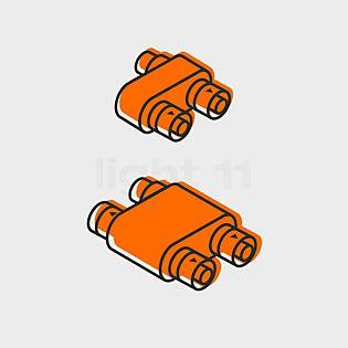 IP44.de Connect Boîte de dérivation Y (2 prises de courant)