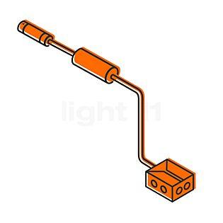 IP44.de Connect kit di collegamento sotterraneo 2 m prolunga